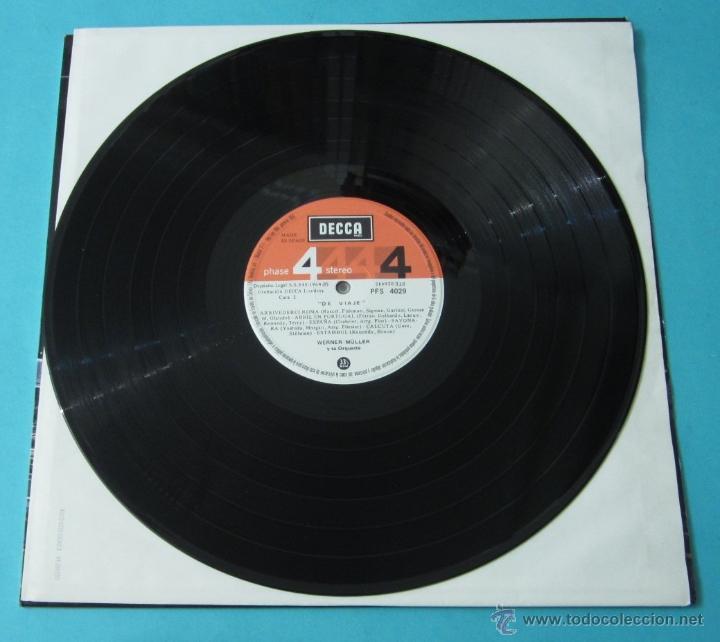 Discos de vinilo: DE VIAJE. WERNER MÜLLER Y SU ORQUESTA - Foto 4 - 39680762