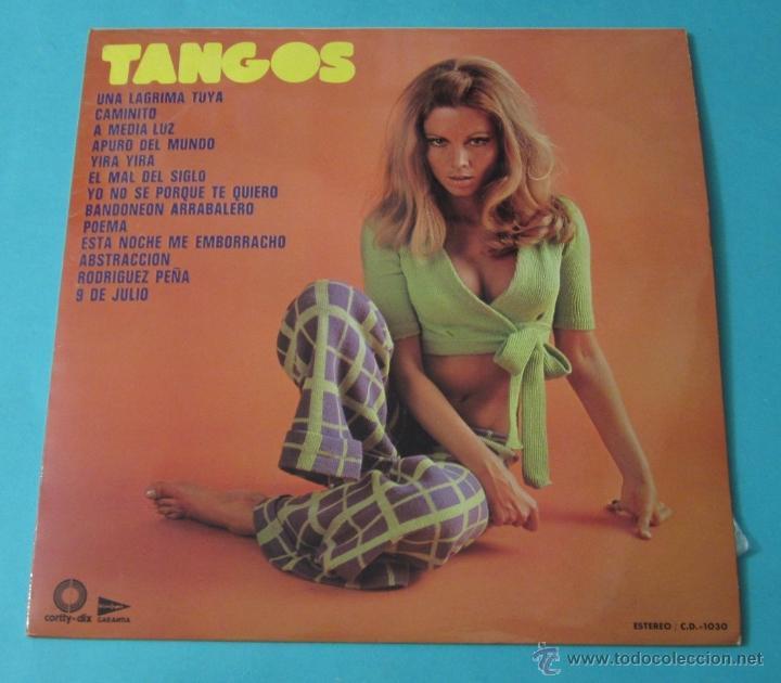 TANGOS. CLARENZO Y SU GRAN ORQUESTA (Música - Discos - LP Vinilo - Orquestas)