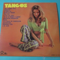 Discos de vinilo: TANGOS. CLARENZO Y SU GRAN ORQUESTA. Lote 39680774