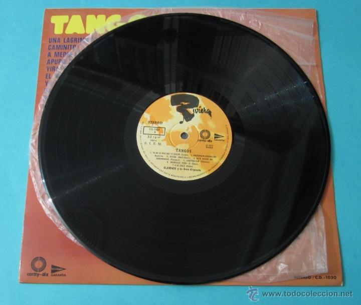 Discos de vinilo: TANGOS. CLARENZO Y SU GRAN ORQUESTA - Foto 3 - 39680774