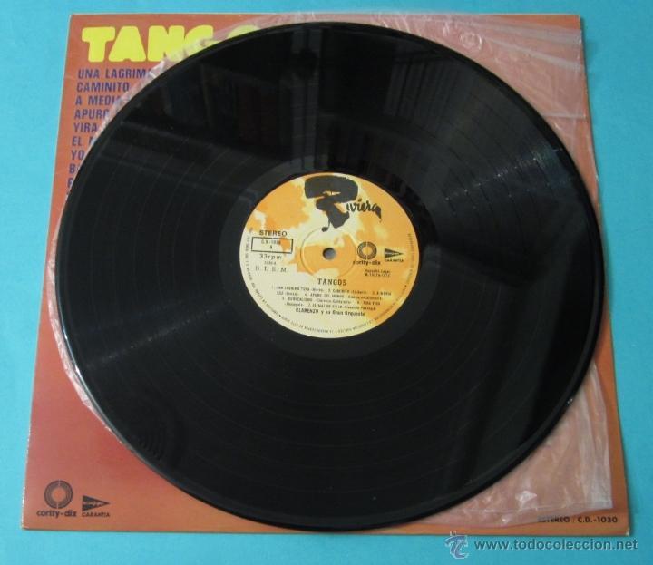 Discos de vinilo: TANGOS. CLARENZO Y SU GRAN ORQUESTA - Foto 4 - 39680774