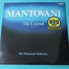 Discos de vinilo: THE LEGEND. THE MONTOVANI ORCHESTRA. Lote 39680827