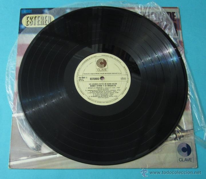 Discos de vinilo: LOS GRANDES ÉXITOS DE GLENN MILLER. BOBBY BYRNE Y SU ORQUESTA - Foto 3 - 39680937