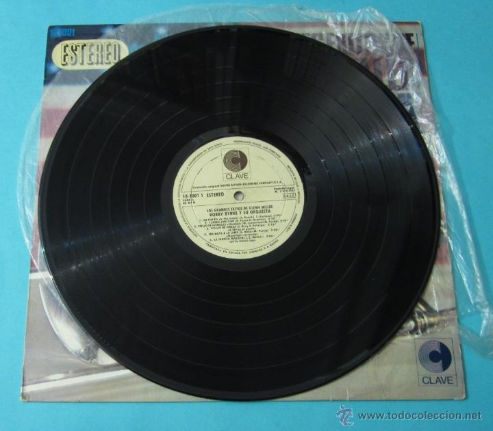 Discos de vinilo: LOS GRANDES ÉXITOS DE GLENN MILLER. BOBBY BYRNE Y SU ORQUESTA - Foto 4 - 39680937