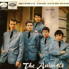 Discos de vinilo: EP THE ANIMALS : BRING IT ON HOME TO ME . Lote 39683706