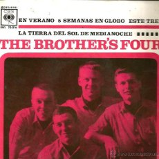 Discos de vinilo: EP THE BROTHER´S FOUR : SUMMERTIME . Lote 39683745