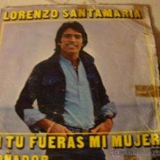 Discos de vinilo: DISCO SINGLE VINILO. Lote 39685321