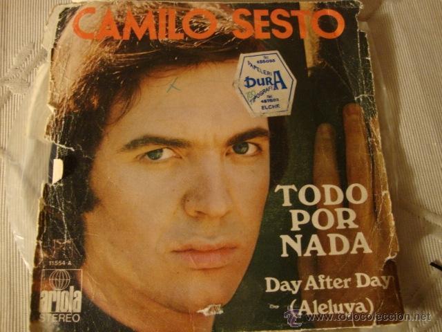 DISCO SINGLE VINILO (Música - Discos - Singles Vinilo - Solistas Españoles de los 70 a la actualidad)