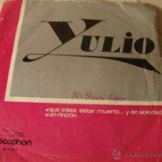 Discos de vinilo: DISCO SINGLE VINILO. Lote 39685365