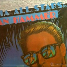 Discos de vinilo: LP SALSA FANIA ALL STARS & JAN HAMMER . Lote 39685595