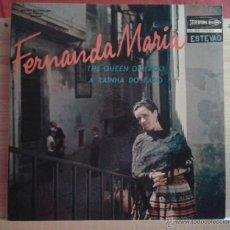 Discos de vinilo: FERNANDA MARIA - THE QUEEN OF FADO (A RAINHA DO FADO). Lote 39687068
