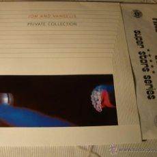 Discos de vinilo: DISCO LP VINILO JON AND VANGELIS PRIVATE COLLECTION, CON LETRAS,. Lote 39690205