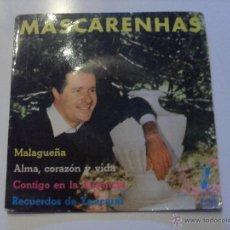 Discos de vinilo: MASCARENHAS - MALAGUEÑA + 3 EP 1962. Lote 39691961
