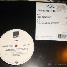 Discos de vinilo: CHER MAXI WALKING IN MEMPHIS INGLATERRA 1995. Lote 39695326