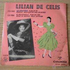 Discos de vinilo: LILIAN DE CELIS EP EP LA VIOLETERA +3. Lote 39697019