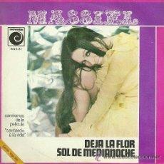Discos de vinilo: MASSIEL SINGLE SELLO NOVOLA AÑO 1968 DEL FILM CANTANDO A LA VIDA. Lote 39698201