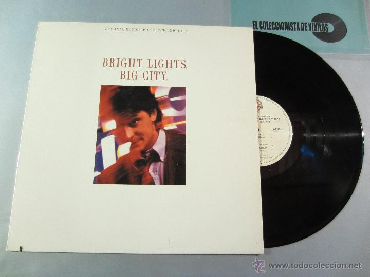 Discos de vinilo: BANDA SONORA - Bright Lights, Big City - LP WB 1988 VINILO - Foto 2 - 39707003