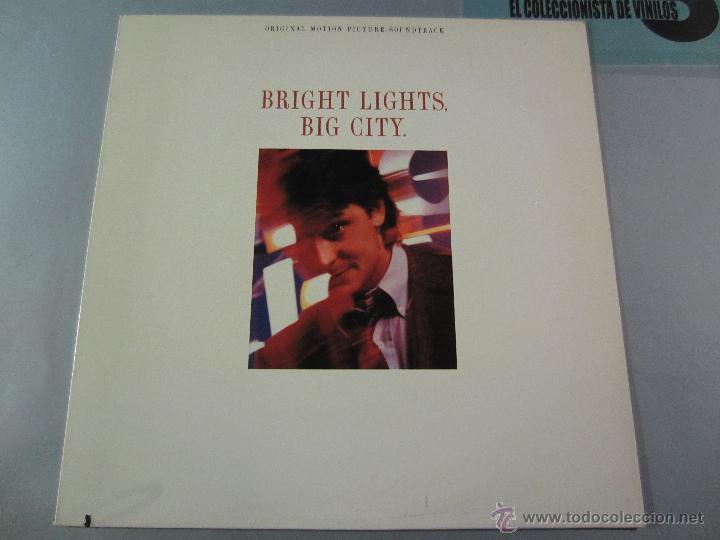 Discos de vinilo: BANDA SONORA - Bright Lights, Big City - LP WB 1988 VINILO - Foto 3 - 39707003