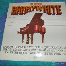 Discos de vinilo: BARRY WHITE SUPER. Lote 39709402