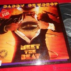 Discos de vinilo: DADDY DEWDR0P MEET THE BEAT LP 1980 INPHASION PROMO EDICION ESPAÑOLA SPAIN VINILO NUEVO. Lote 39712599
