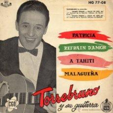 Discos de vinilo: TORREBRUNO, EP, PATRICIA + 3, AÑO 1959. Lote 39717689