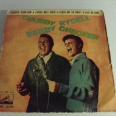 Discos de vinilo: CHUBBY CHECKER , BOBBY RYDELL - SWINGIN' TOGETHER + 3 EP 1963. Lote 39843077