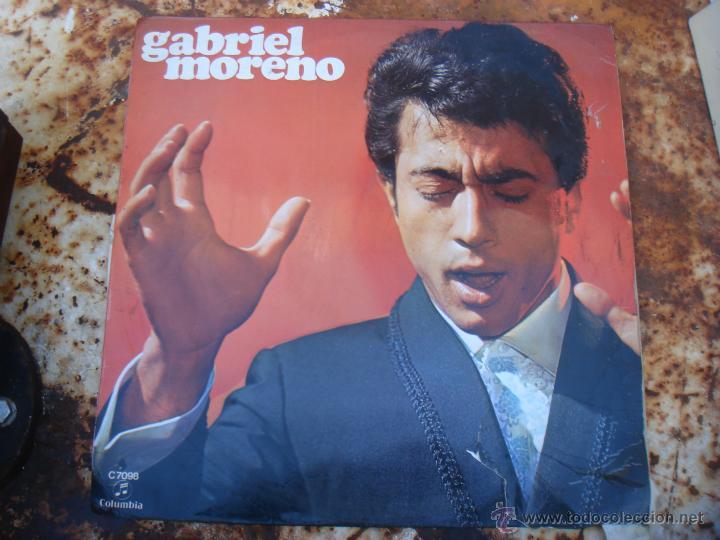 LP GABRIEL MORENO. COLUMBIA. FLAMENCO (Música - Discos - LP Vinilo - Flamenco, Canción española y Cuplé)