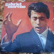 Discos de vinilo: LP GABRIEL MORENO. COLUMBIA. FLAMENCO. Lote 39734233