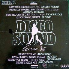 Discos de vinilo: DISCO SOUND VERANO 86 / DOBLE LP, PROMOCIONAL ESPAÑOL, WEA RECORDS 1985 !! TODO EXC. Lote 39734177