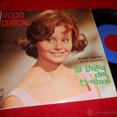 Discos de vinilo: ROCIO DURCAL TREBOLE / LOS PIROPOS DE MI BARRIO ..+2 7 EP 1963 PHILIPS LA CHICA DEL TREBOL BSO. Lote 50799658
