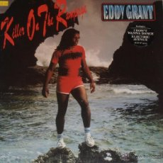 Discos de vinilo: EDDY GRANT - KILLER ON THE RAMPAGE - LP. Lote 39739642