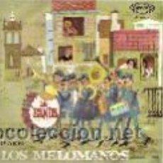 Discos de vinilo: LOS MELOMANOS SINGLE SELLO SONOPLAY AÑO 1967. Lote 39740471