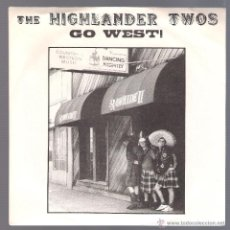Discos de vinilo: THE HIGHLANDER TWOS - DAUGHTER OF GERONIMO + 2 ( SINGLE 1995 USA ) GARAGE. Lote 39742357