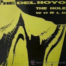 Discos de vinilo: DEL-HOYO, THETHE HOLE WORLD LP POLAR RECORDS SPAIN1990MMPLB-007. Lote 39742503