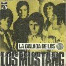 Discos de vinilo: LOS MUSTANG SINGLE SELLO LA VOZ DE SU AMO AÑO 1969. Lote 39743557