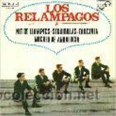 Discos de vinilo: LOS RELAMPAGOS EP SELLO NOVOLA AÑO 1965. Lote 39727804