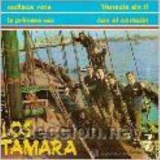 Discos de vinilo: LOS TAMARA EP SELLO ZAFIRO AÑO 1965. Lote 39744290