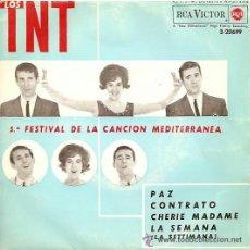 Discos de vinilo: LOS TNT EP SELLO RCA VICTOR AÑO 1963. Lote 39744329