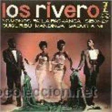 Discos de vinilo: LOS RIVERO SINGLE SELLO ZAFIRO AÑO 1961. Lote 39744350