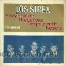 Discos de vinilo: LOS SIREX EP SELLO VERGARA AÑO 1966. Lote 39744368