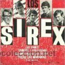 Discos de vinilo: LOS SIREX EP SELLO VERGARA AÑO 1966. Lote 39744373