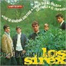 Discos de vinilo: LOS SIREX EP SELLO VERGARA AÑO 1966. Lote 39744382