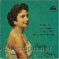Discos de vinilo: ANTOÑITA MORENO EP SELLO LAS VOZ DE SU AMO AÑO 1958. Lote 39744412