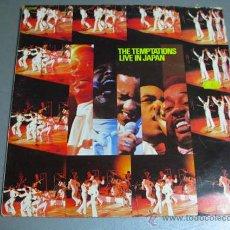 Discos de vinilo: LP THE TEMPTATIONS, LIVE IN JAPAN. Lote 39819180