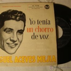 Discos de vinilo: DISCO SINGLE ORIGINAL VINILO 45 RPM EP MIGUEL ACEBES MEJIAS-YO TENIA UN CHORRO DE VOZ-Y 3 MAS. Lote 39751794