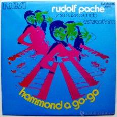 Discos de vinilo: RUDOLF PACHÉ - HAMMOND A GO-GO - LP RCA CAMDEN 1971 BPY. Lote 39756150