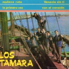 Discos de vinilo: TAMARA, EP, VENECIA SIN TI + 3, AÑO 1965. Lote 39753726
