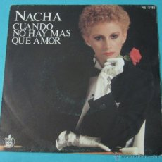 Discos de vinilo: NACHA. HISPA VOX. Lote 39758008
