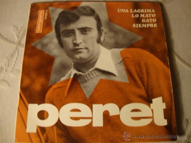 DISCO SINGLE ORIGINAL EP PERET (Música - Discos de Vinilo - EPs - Solistas Españoles de los 50 y 60)