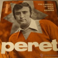Discos de vinilo: DISCO SINGLE ORIGINAL EP PERET. Lote 39758536
